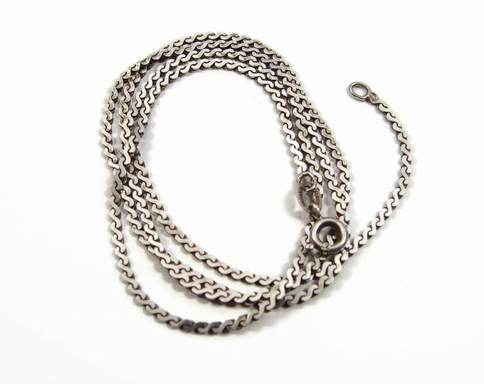 JAMES AVERY Sterling Silver Serpentine Chain