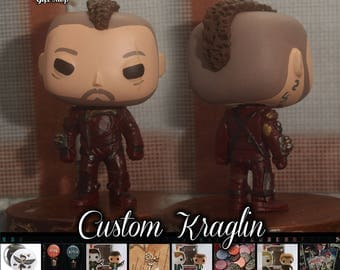 Ravager first mate Kraglin - Custom Funko pop toy