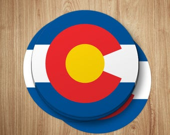 Colorado Sticker | Colorado Flag Sticker | Colorado Decal