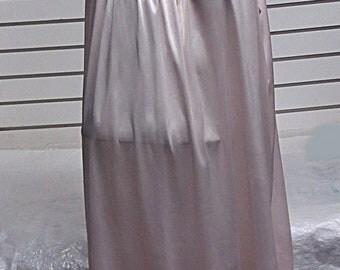Frenchmaid  Vintage Nylon Nightgown Size XL #477