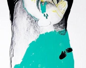 "Artist limited edition digital print ""Cosmic Dreams"""