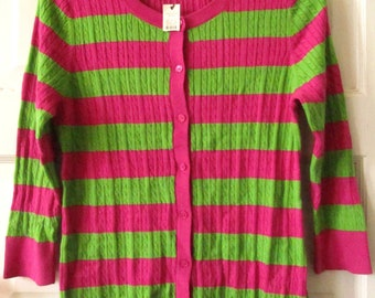 Talbots Cardigan Sweater, L Petite, NWT, NOS