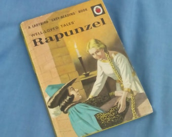 Rapunzel - Vintage Ladybird Book Series 606D Well- loved Tales -  40p - Matt Covers - Hardback