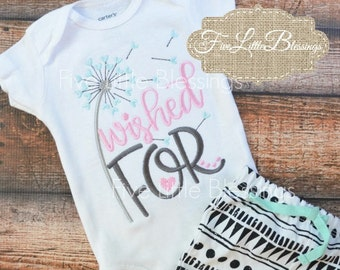 Wished For - Rainbow Baby - Baby Shower Gift - New baby - For the baby we have prayed - New Grandma - New dad - Pregnancy announcement