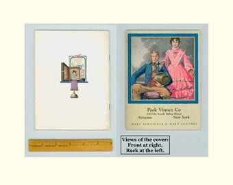 Peck Vinney Co Syracuse NY, Fashion Illustrations by John E. Sheridan, Hart Schaffner & Marx, 1922 Style Book for Men, Young Men, and Boys,