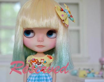 RESERVED for L****  Marianna - Custom Blythe Doll by Sweet Petite Shoppe