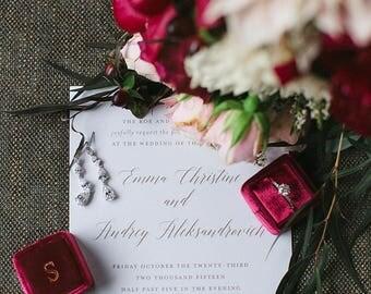 Printable Wedding Invitation, Calligraphy Wedding Invitation Printable, Gold Wedding Invitation, Wedding Invite,  - #S30