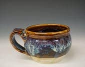 Small Pottery Coffee Mug - Handmade Mug