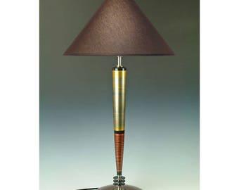 Table lamp Living room lamp art deco mid century desk lamp unique lamp modern contemporary lamp tall lamp futuristic lamp Arizona USA # 282