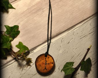 Celtic Tree Ogham Silver Birch Pendant No.2: Witchcraft, Druid,  Charm, Talisman, Amulet,
