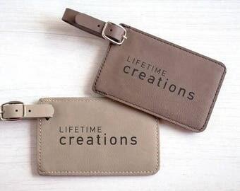 30 Custom Luggage Tags with Logo: Branded Luggage Tags, Promotional Luggage Tags, Employee Luggage Tags, Bulk Luggage Tags, Promo Items