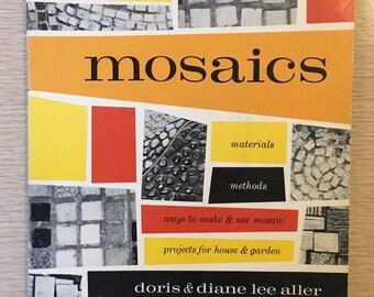 Vintage Sunset Book | Mosaics | for House & Garden | 1960