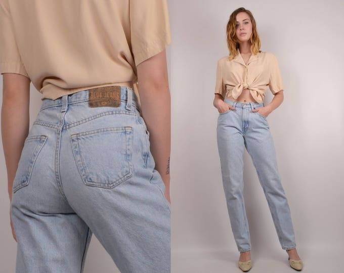 Vintage Tapered Leg Jeans XS