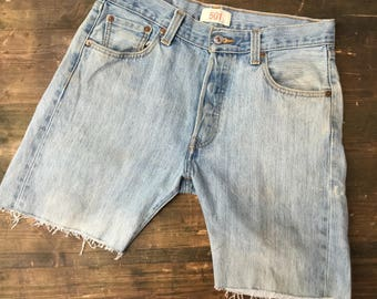 Levi Strauss 501 W30 Cutoff Shorts