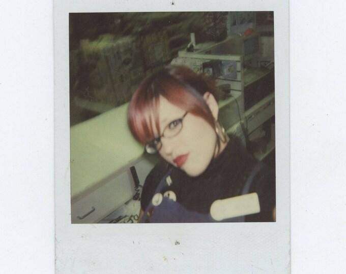 Vintage Polaroid SX-70 Snapshot Photo: Sassy [82652]