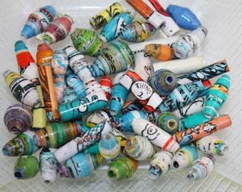 Dr. Seuss Paper Beads (60)