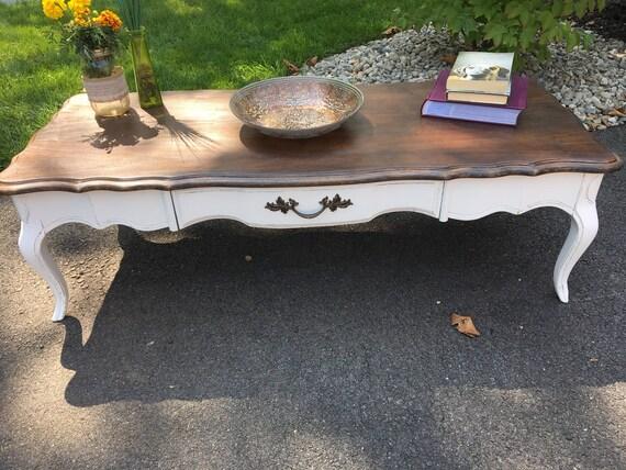 Sold Vintage Bassett coffee table