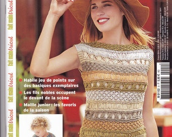 Handmade knitting Magazine - Spring 2015 - No. 9