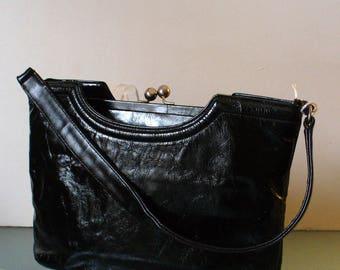 Vintage Henri Bendel Patent Leather Handbag