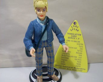 Vintage Coneheads Prymaat Suburban Uniform Action Figure, Complete, Playmates 1993, Complete