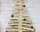 Wooden Christmas Tree - rustic Christmas tree - reclaimed wood - stacking tree - alternative Christmas tree - Christmas decoration
