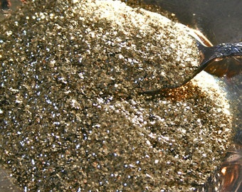 Solvent Resistant CHAMPAGNE GOLD Glitter, OPAQUE