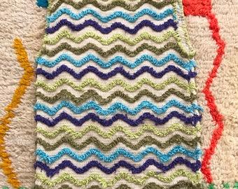 60s wavy stripe knit tank
