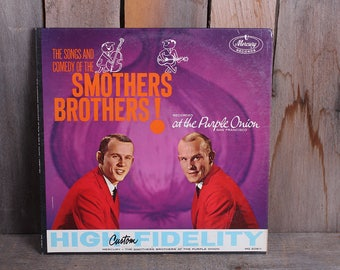 1962 The Songs and Comedy of the Smothers Brothers at the Purple Onion Comedy Record Album