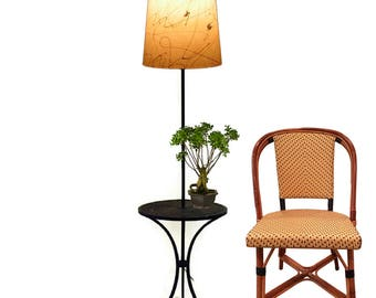 mid century floor lamp table lamp metal end table with lamp retro side table lamp tall