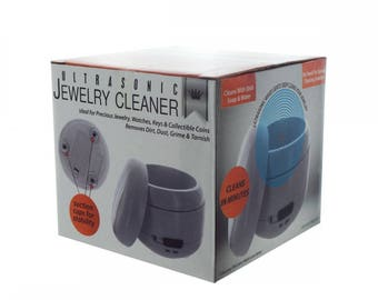 Jewelry Cleaner Coin Cleanser Key Sanitizer Chemical Free & Safe  Removes dirt, Dust Grime GIFT Simple Fast Easy