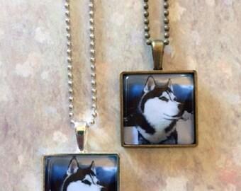 Siberian Husky - Siberian Husky Gift - Siberian Husky Jewelry - Siberian Husky Dog - Husky - Husky Necklace - Husky Jewelry - Husky Dog Gift