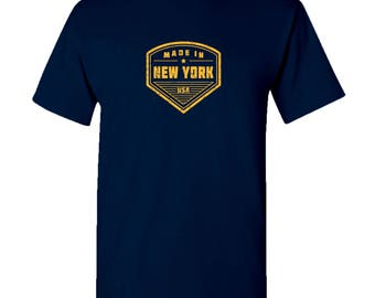Made in New York T Shirt - Navy