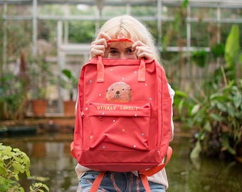 Hand Painted Otterly Lovely Backpack