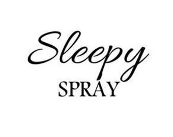 Sleepy Spray SVG PNG Digital Download