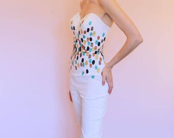 Celia handpainted jumpsuit