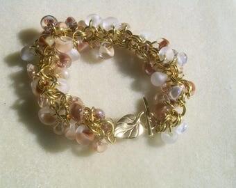 Sweet Gold Bracelet Dulce de Leche Tutti Frutti Vanilla