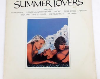 Summer Lovers Original Movie Soundtrack 1982 Vinyl LP Record Album 1-23695