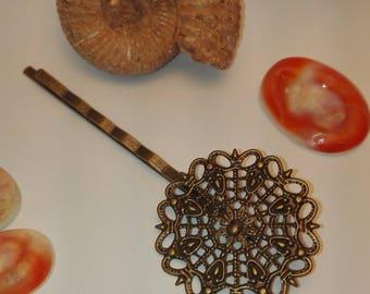 64 * 25mm flower shape hair pins clips