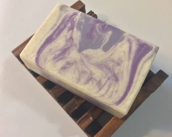 Violet Handmade Soap 4.5 oz