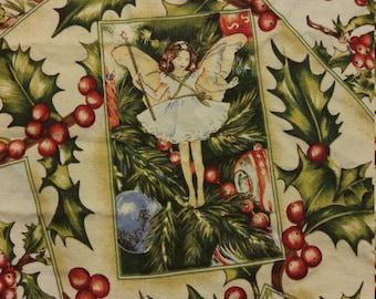 Christmas Fairy Fabric