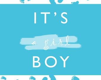 It's a boy crd