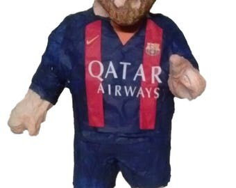 Lionel Messi  PINATA complete body with FC Barcelona t-shirt (you can modify t-shirt)