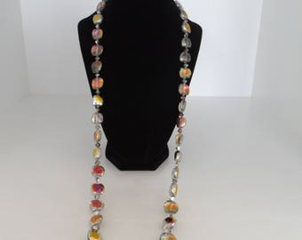 "34"" Crystal Necklace"