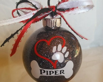 Custom dog ornament  Etsy