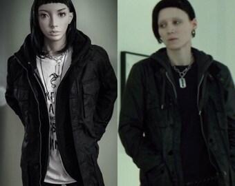 Lisbeth Motorcycle Jacket,waxed jacket,black jacket,biker jacket,coats,winter coats,black jackets,alternative,black jackets,raincoats,kawaii