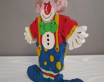 Clown puzzle wood craftsmanship