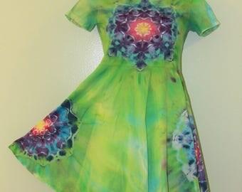 Girl's Tie-Dye Dress