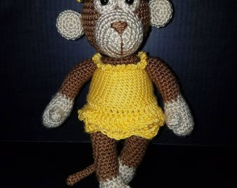 Crochet Monkey Pal