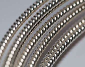 925 Sterling Silver Pattern Twist Wire (Soft)