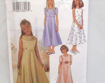 Butterick 3714 Easy Girls Dress UNCUT